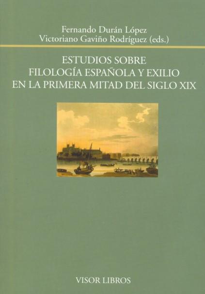 portada filología y exilio Visor